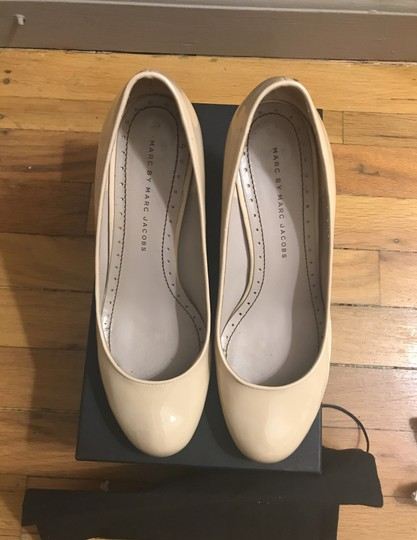 Marc by Marc Jacobs Nude Pumps Image 2