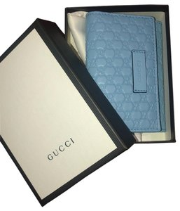 Gucci Wristlet in mineral blue