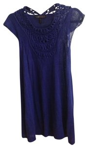 BCBG short dress Purple blue on Tradesy