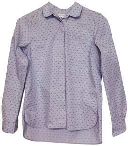 Chinti and Parker Button Down Shirt blue