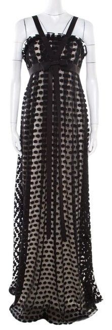 Preload https://img-static.tradesy.com/item/25672832/marchesa-notte-black-polka-dotted-tulle-bow-detail-gown-m-long-casual-maxi-dress-size-8-m-0-1-650-650.jpg