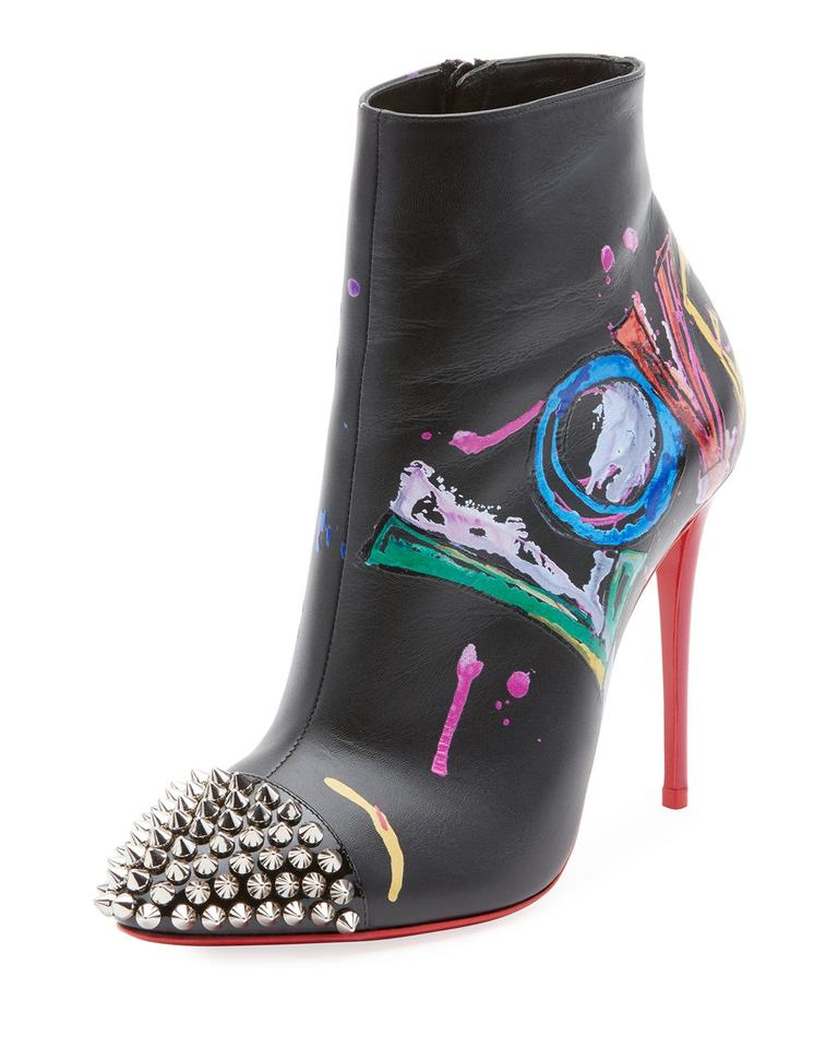 27c3dabcf8f Christian Louboutin Muticolor Love Is A Red Sole Boots/Booties Size EU 40  (Approx. US 10) Regular (M, B) 32% off retail