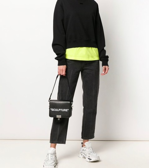 Off-White Sculpture Off White Binder Clip Binder Cross Body Bag Image 1