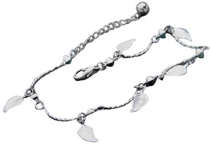 Leaf Jingle Bell Lady Anklet Chain Ankle Bracelet Link FASHION jewelry