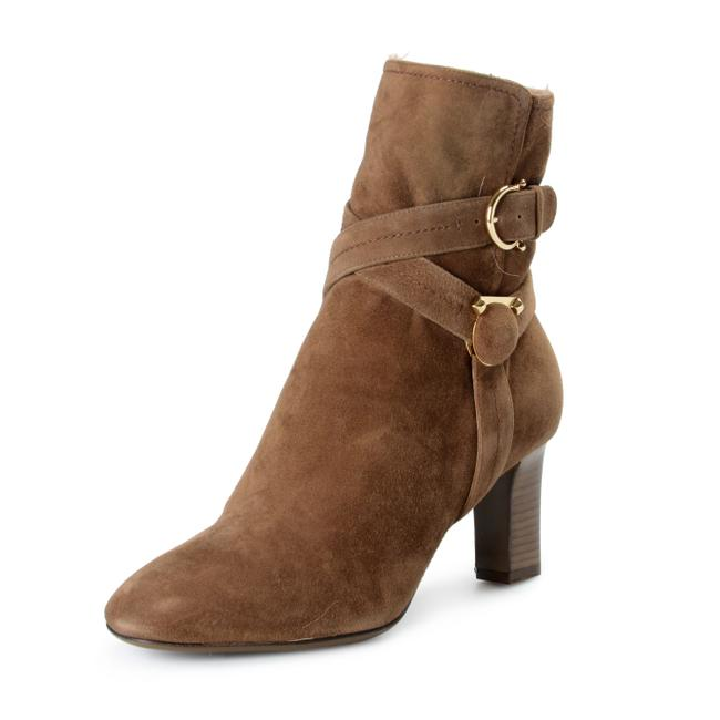 Item - Brown Shoes-4215 Boots/Booties Size US 8 Wide (C, D)