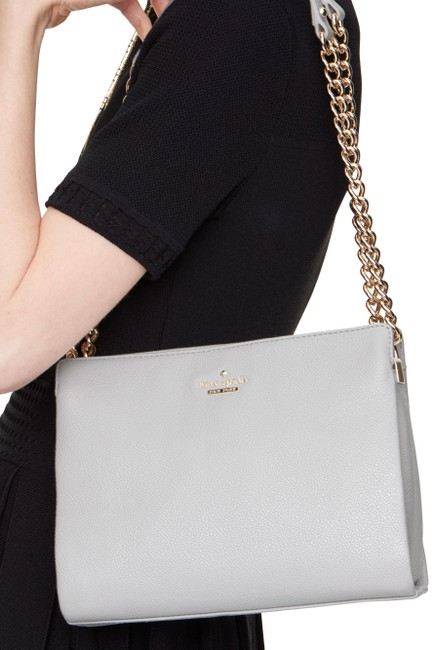 Item - Emerson Lane Mini Convertible Phoebe Stone Ice Leather Shoulder Bag