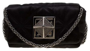 Sonia Rykiel Satin Quilted Chain Cross Body Bag