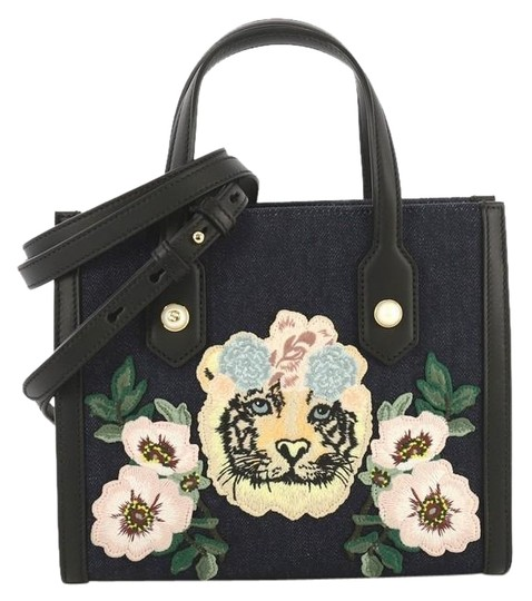 Gucci Embroidered Tote in denim Image 0