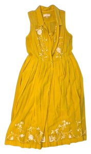 Yellow Maxi Dress by Anthropologie