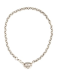 Tiffany & Co. TIFFANY & CO. PLEASE RETURN TO .925 STERLING SILVER CHOKER NECKLACE