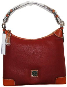Dooney & Bourke Pebbled Leather Medium Hobo Bag