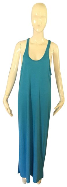 Item - Turquoise Long Casual Maxi Dress Size 12 (L)