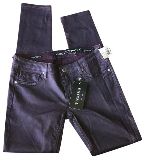 Item - Eggplant Coated Jagger Supper Skinny Jeans Size 27 (4, S)