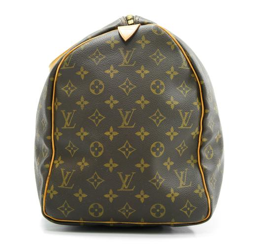 Louis Vuitton 50 Keepall Duffle Bandouliere Lv Brown Travel Bag Image 4