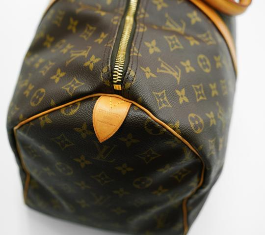 Louis Vuitton 50 Keepall Duffle Bandouliere Lv Brown Travel Bag Image 6