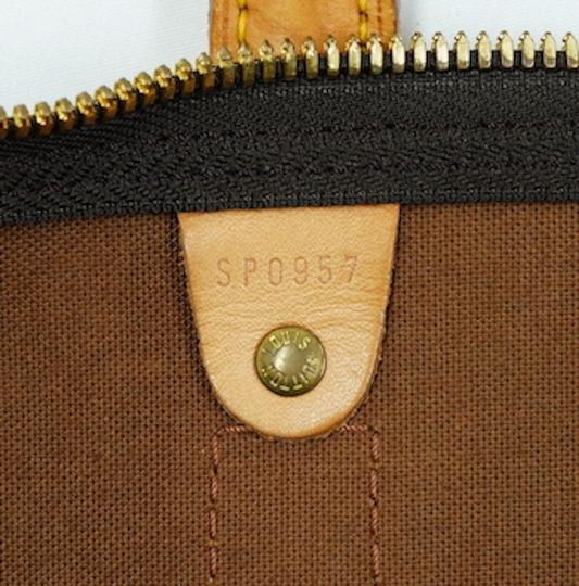 Louis Vuitton 50 Keepall Duffle Bandouliere Lv Brown Travel Bag Image 9