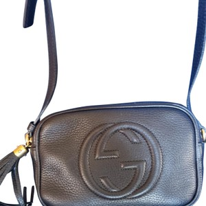 76c366362 Gucci Marmont Ghost 447632 Blue Leather Cross Body Bag - Tradesy