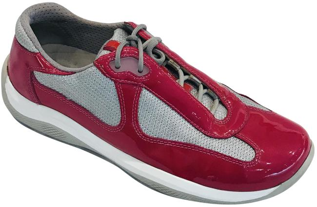 Item - Fuchsia Silver Low Top Mesh Sneakers Size EU 38 (Approx. US 8) Regular (M, B)