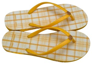 Tory Burch yellow Sandals