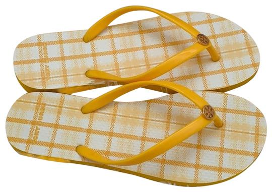 Tory Burch Yellow Sandals Size US 12