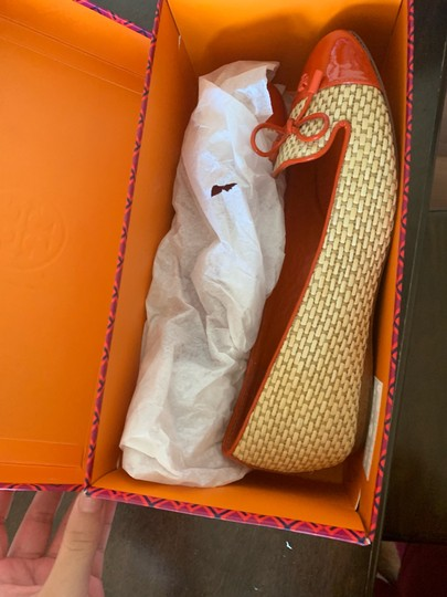 Tory Burch Beige and orange Platforms Image 1