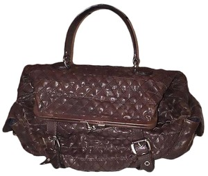 Boutique Moschino Satchel in Brown