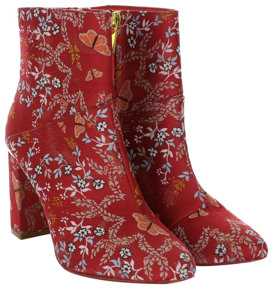 best selection of 2019 fresh styles uk cheap sale Ted Baker Red Ishbel Kyoto Textile Women's Boots/Booties Size US 8.5  Regular (M, B) 77% off retail