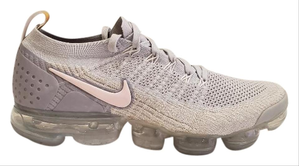 huge discount bc2b0 f411a Nike Light Grey Air Vapormax Flyknit 2 Womens Pure Platinum Arctic Pink  942843-011 Sneakers Size US 12 Regular (M, B)