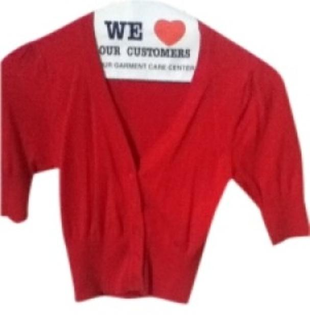 Preload https://item4.tradesy.com/images/ambiance-apparel-red-cardigan-size-4-s-25678-0-0.jpg?width=400&height=650