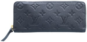 Louis Vuitton Louis Vuitton Black Empreinte Clemence Wallet