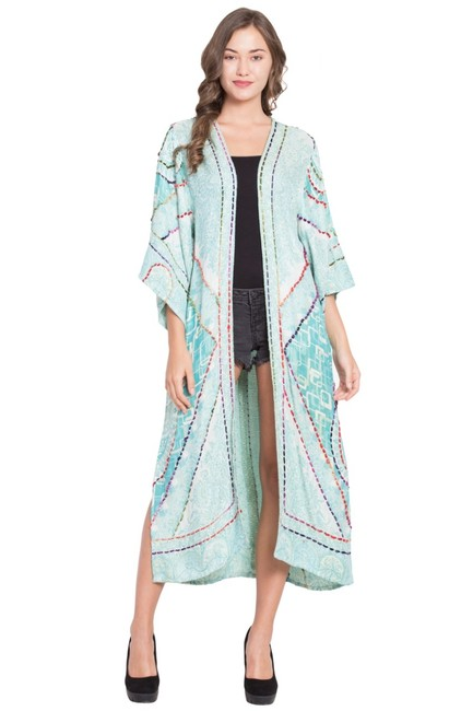 Item - Multicolor Belle Duster Jacket Size OS (one size)