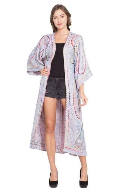 Item - Multicolor Calliope Duster Jacket Size OS (one size)