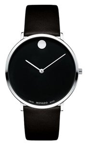 Movado Museum Classic Lizard Grain Leather Strap 2100002