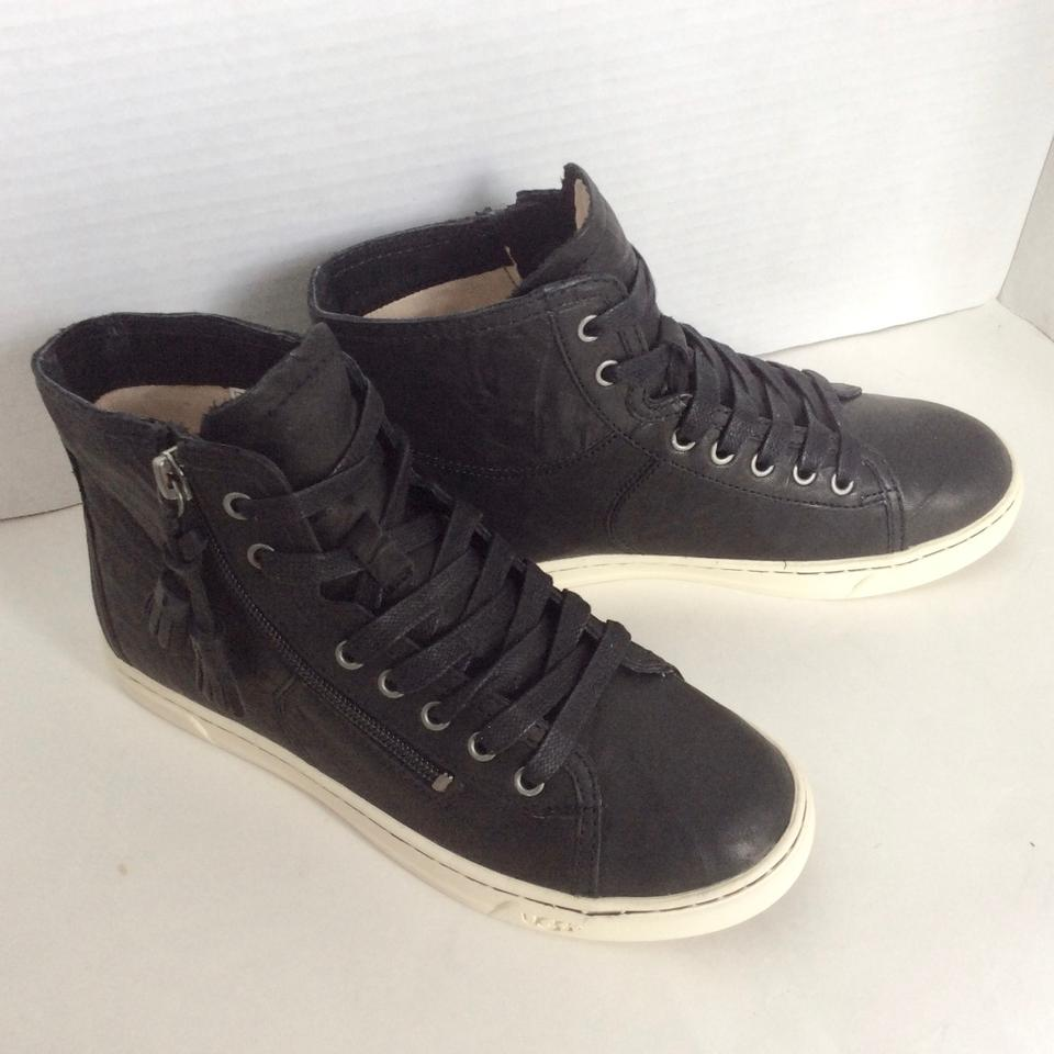 d69570d543d UGG Australia Black Blaney Hi-top Leather Sneakers Size US 7 Regular (M, B)  31% off retail