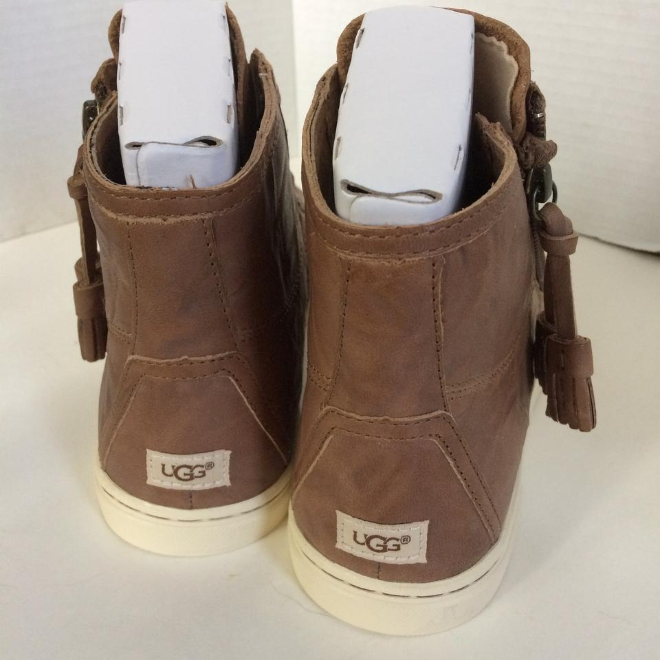 96e5f0f2925 UGG Australia Black Blaney Hi-top Leather Sneakers Size US 11 Regular (M,  B) 31% off retail