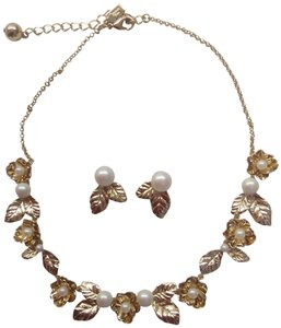 Kate Spade Kate Spade New Lavish Blooms Necklace and Earrings
