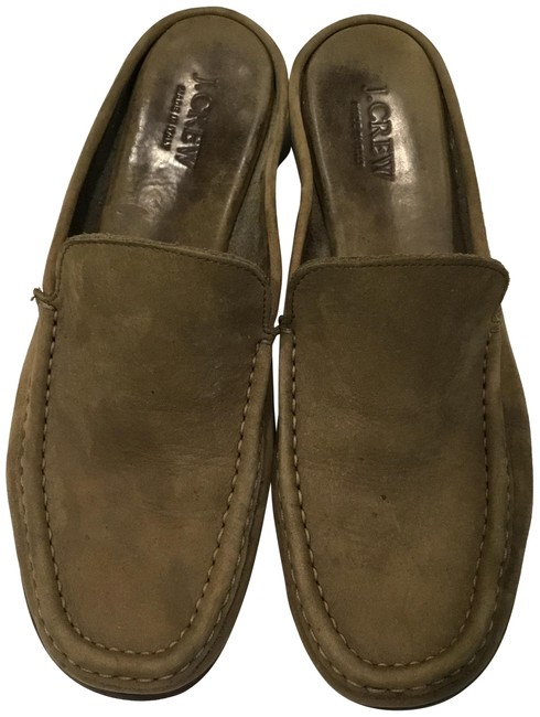 Item - Camo Green Suede Loafer Mules24657 Mules/Slides Size US 9 Regular (M, B)