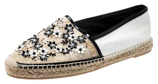 Preload https://img-static.tradesy.com/item/25679247/rene-caovilla-white-monochrome-lace-and-leather-floral-embellished-espadrilles-flats-size-eu-41-appr-0-1-540-540.jpg