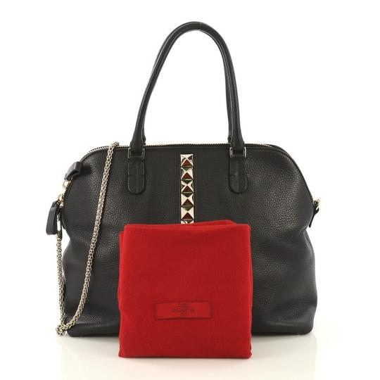 Valentino Va Voom Bowling Leather Tote in black Image 1