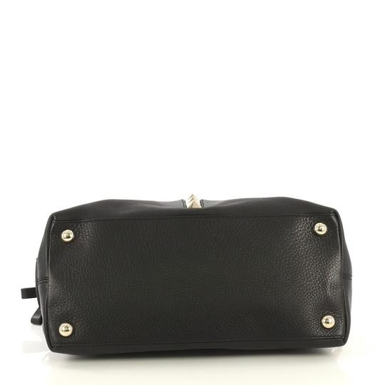 Valentino Va Voom Bowling Leather Tote in black Image 4