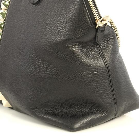 Valentino Va Voom Bowling Leather Tote in black Image 6