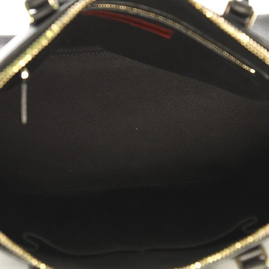 Valentino Va Voom Bowling Leather Tote in black Image 7