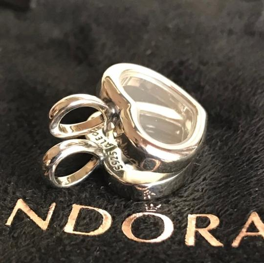 PANDORA Authentic Pandora Floating Heart Locket Pendant with May and October Droplets Image 4