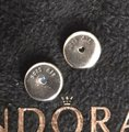 PANDORA Authentic Pandora Floating Heart Locket Pendant with May and October Droplets Image 6
