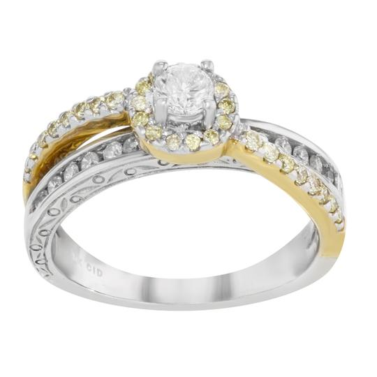 Preload https://img-static.tradesy.com/item/25679257/14k-white-yellow-gold-diamond-accented-ladies-engagement-060-cts-size-7-ring-0-0-540-540.jpg