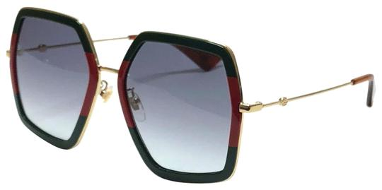 Preload https://img-static.tradesy.com/item/25679263/gucci-red-green-large-style-gg0106s-007-free-3-day-shipping-oversized-sunglasses-0-1-540-540.jpg