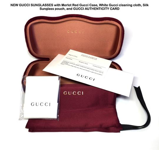 Gucci Large Style gg0106S 007 - FREE 3 DAY SHIPPING Oversized Image 11