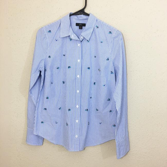 J.Crew Button Down Shirt blue Image 2