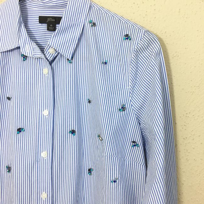 J.Crew Button Down Shirt blue Image 3