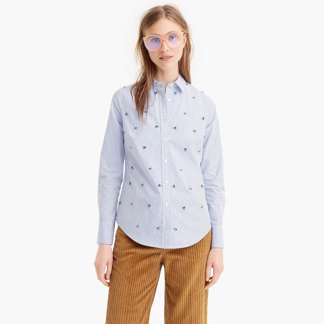 J.Crew Button Down Shirt blue Image 8